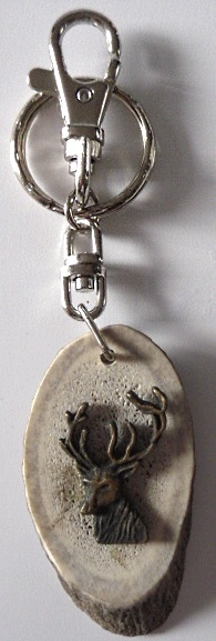 Stag horn Carry-key decor stag