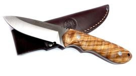 Hunting knife Nieto Viking olive-tree wood handle