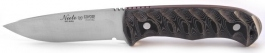 Hunting knife Nieto Coyote gray micarta handle