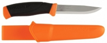 Couteau Mora Companion F cranté orange