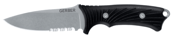 Outdoor knife Gerber Big Rock serrated