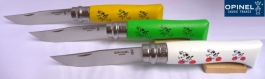 The 3 Opinel knife nr 08 Tour de France
