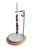 Skewers holder Medieval Bron coucke