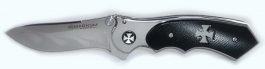 Folding knife Flaming cross Boker Magnum