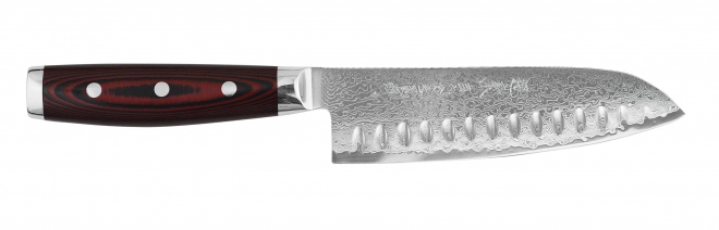 Santoku with ground hollow 16,5 cm Yaxell Super Gou