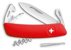 Swiss knife Swiza D03 red