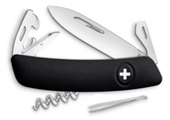 Swiss knife Swiza D03 black
