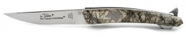Folding knife Le Thiers verrou Claude Dozorme wild boar hair