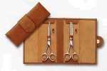 Set of 2 hair scissors 3 Claveles ct Gold