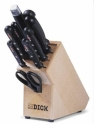 knife block 10 pcs Dick Superior