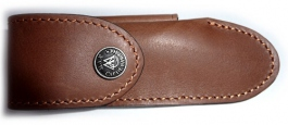 Folding knife Perou leather sheath Max Capdebarthes