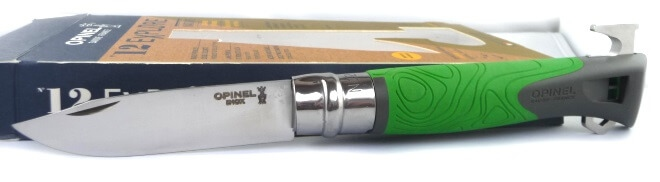 Opinel knive nr 12 Explore Green