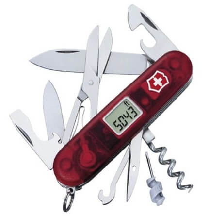 Victorinox Traveller rubis Swiss knife