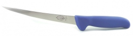 Filetiermesser 18 cm Dick Mastergrip blau
