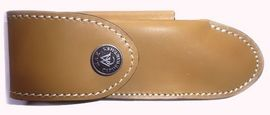 Folding knife Alezan leather sheath Max Capdebarthes 27612