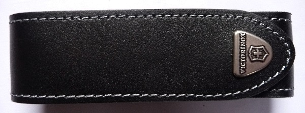 Leather knife pouch long Victorinox 4.0505.L