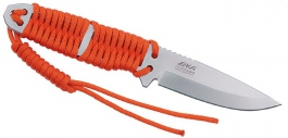 EKA Cordblade W9 orange hunting knife
