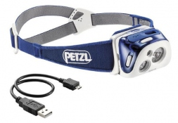 Petzl Hedlamp reactik blue