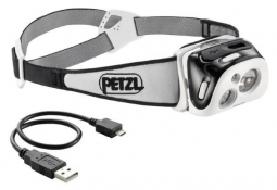 Petzl Hedlamp reactik black