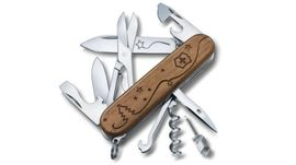 1.3704.63E2 Victorinox Swiss Army Knife Climber Wood for you
