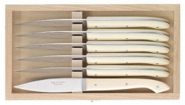 Steak knives Dozorme le Capucin cream