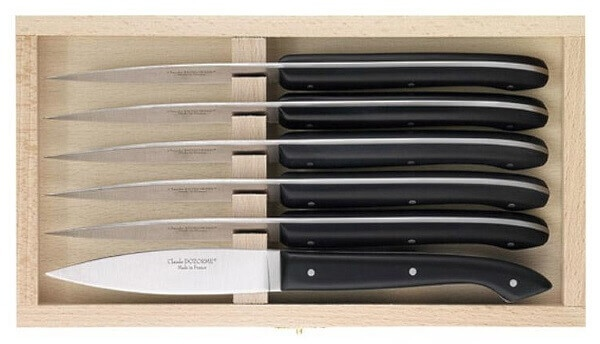 Steak knives Dozorme le Capucin black
