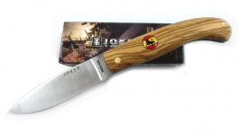 Joker Folding knife olive wood handle NO78-20