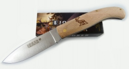 Joker Folding knife beech wood handle NH78-2