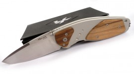 Xikar folding knife Extreme Olive wood