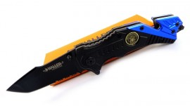 Folding knife Haller Rescue blue/black