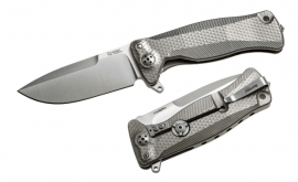Lionsteel folding knife Titanium Grey SR11.G