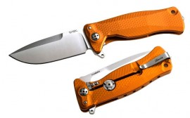 Einhandmesser Lionsteel Orange Aluminium SR11A.OS