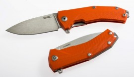 Couteau pliant Lionsteel manche G10 Orange  KUR.OR