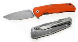 Couteau pliant Lionsteel G10 Orange TRE.GOR