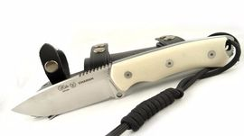Survival knife Nieto Chaman Basico White