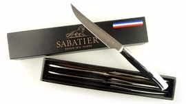6 Steak knives Lion Sabatier