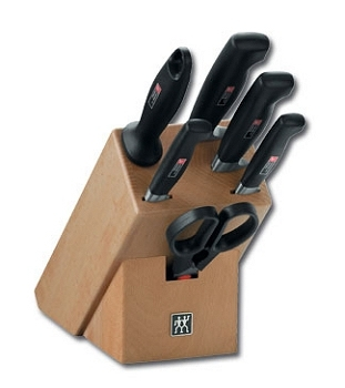 knife block 7 pcs - Four Star Zwilling J.A. Henckels