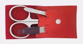 Manicure set Dovo red 3 items  960 031