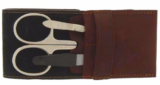 Manicure set Dovo brown 3 items  1058 051