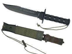 Aitor Jungle King I black survival knife