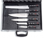 Magnetic Chef's case with 6 pcs Dick Premier Plus and Superior
