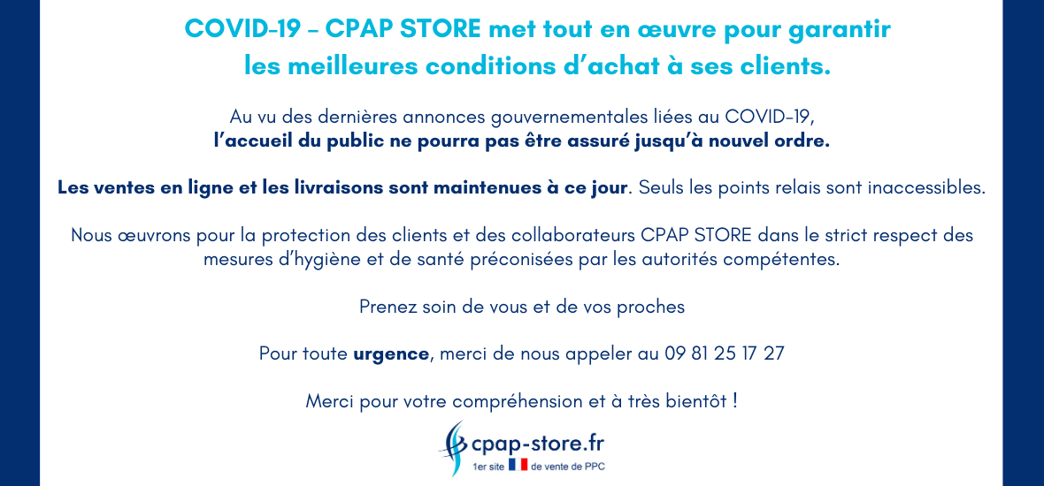 COVID-19 - Cpap Store