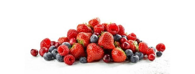 Red fruits flavours