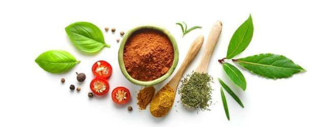 Spices and herbs flavours