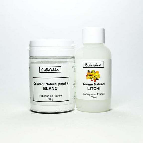LITCHI Natural Flavouring + Natural White Colouring