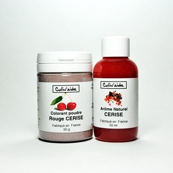 Natural Flavouring CERISE + Cherry Red Colouring