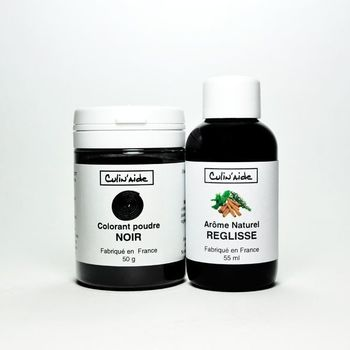 Natural Aroma REGULATED + Black Colouring