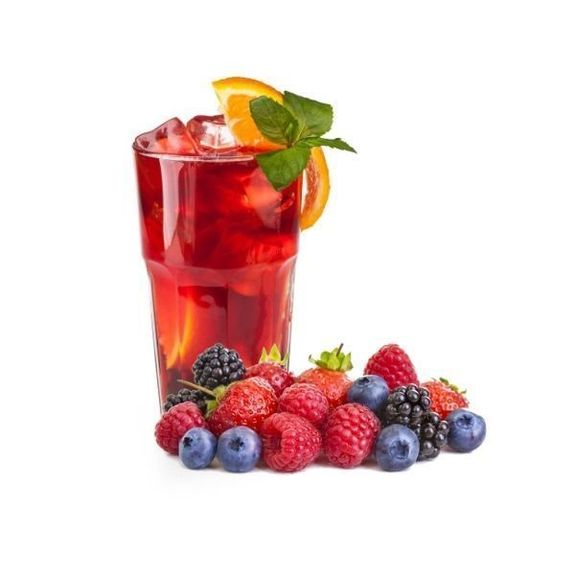 RED BERRIES TEA -Flavour