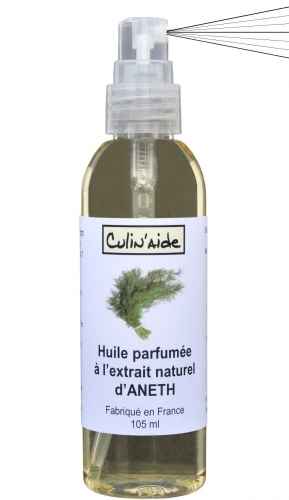 HUILE AROMATISEE à l'EXTRAIT NATUREL d'ANETH