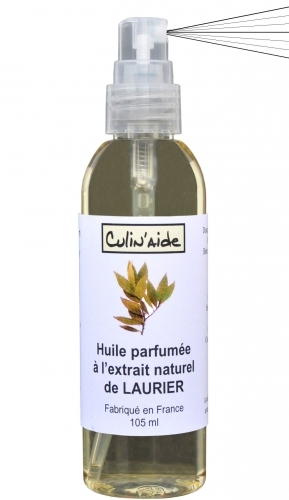 AROMATIZED OIL with NATURAL EXTRACT OF LAURIER